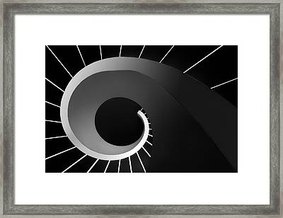 Escape The Void Framed Print by Paulo Abrantes