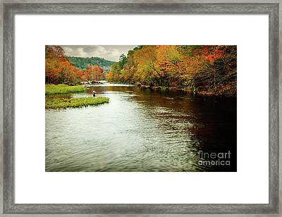 Escape To Beaver's Bend Framed Print by Tamyra Ayles