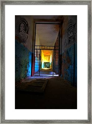 Escaped Framed Print by Nathan Wright