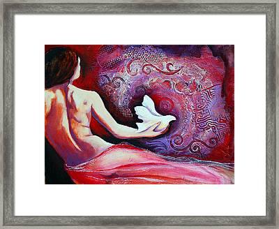 Esperanza Framed Print by Claudia Fuenzalida Johns
