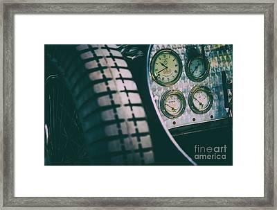 Essence Of Bugatti Framed Print by Tim Gainey