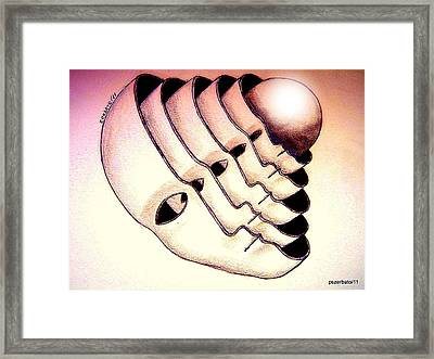 Essence Framed Print by Paulo Zerbato