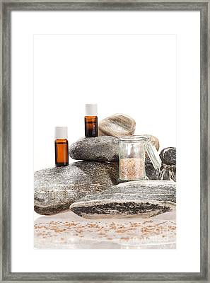 Essential Oil From Caraway Framed Print by Wolfgang Steiner