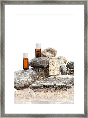 Essential Oil From Fennel Framed Print by Wolfgang Steiner