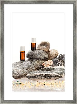 Essential Oil From Frankincense Framed Print by Wolfgang Steiner