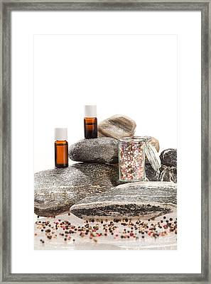 Essential Oil From Pepper Framed Print by Wolfgang Steiner