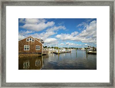 Essex Waterfront Framed Print by Karol Livote