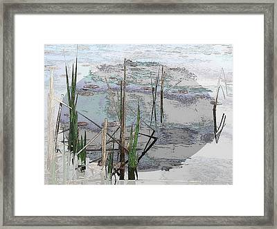Estuary Framed Print by Tim Allen
