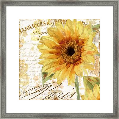Ete II Framed Print by Mindy Sommers