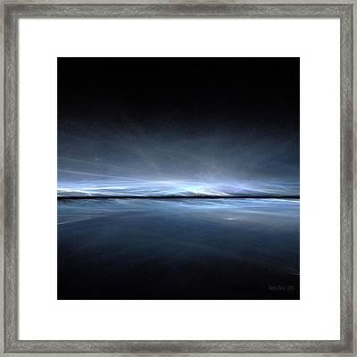 Eternal Ice Framed Print by Stefan Kuhn