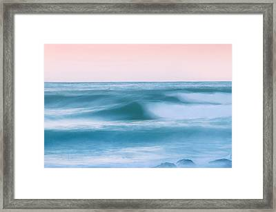Eternal Motion Framed Print by Az Jackson