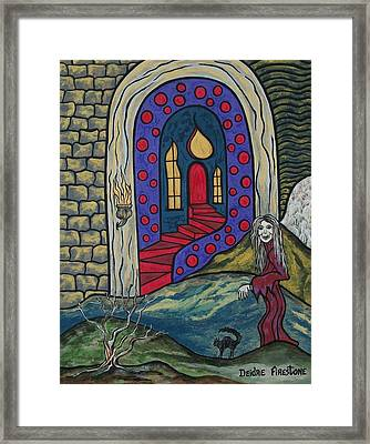 Eternal Peace And Happiness Framed Print by Deidre Firestone