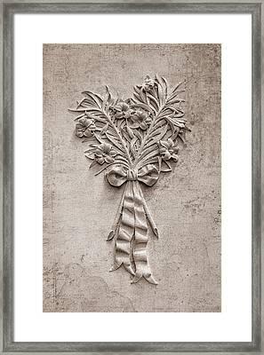 Eternal Lilies Framed Print by Tom Mc Nemar