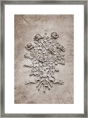 Eternal Rose Framed Print by Tom Mc Nemar