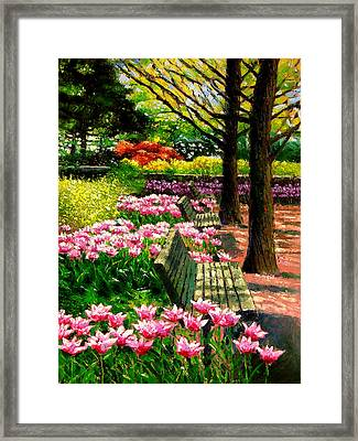Eternal Spring Framed Print by John Lautermilch