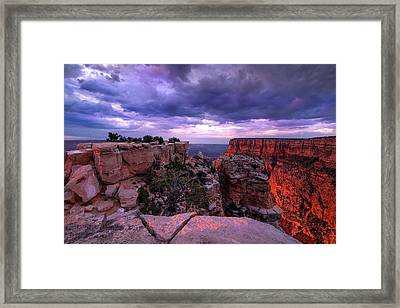 Eternally Grand Framed Print by Mikes Nature