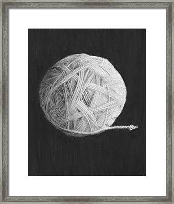 Eternity Framed Print by Jyvonne Inman
