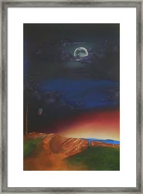 Eternity Framed Print by Richard    J Thorpe
