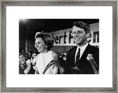Ethel Kennedy, Robert F. Kennedy Framed Print by Everett