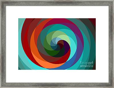 Etourdissement - 01a Framed Print by Variance Collections