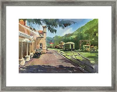 Eureka Springs Station Framed Print by Spencer Meagher