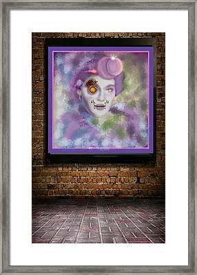 Eva Gardner- Mocking Jay Framed Print by Pat Carafa