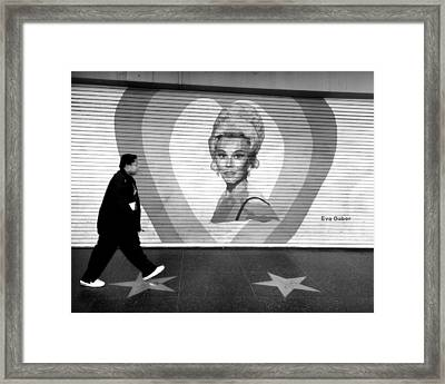 Eva Framed Print by John Gusky