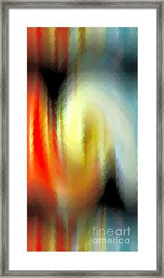 Evanescent Emotions Framed Print by Gwyn Newcombe