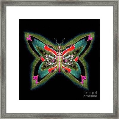 Evangeline Mossclove Framed Print by Raymel Garcia