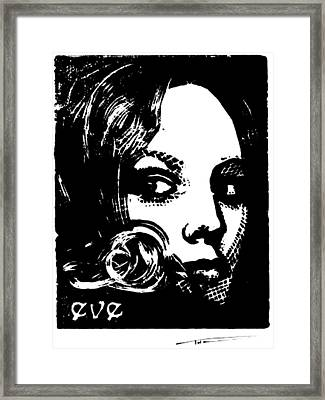 Eve Framed Print by Thomas Campbell