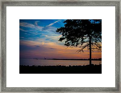 Evening Approaches Framed Print by Karol Livote