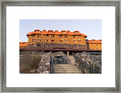 Evening At The Grove Park Inn Framed Print by MM Anderson