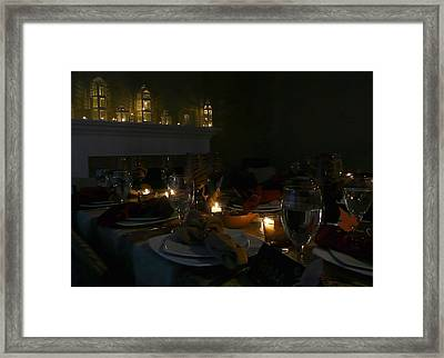 Evening Celebration Framed Print by Lori Seaman
