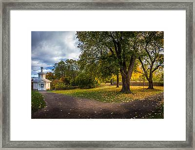Evening Glow At Dundurn Framed Print by Rick McKenzie