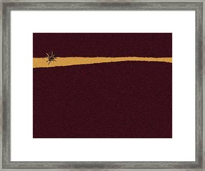 Evening Hope - Espoir Du Soir Framed Print by Pascal VERSAVEL