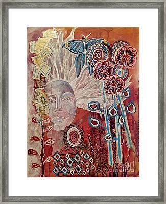 Evening Framed Print by Mimulux patricia no