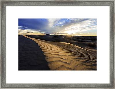 Evening Ripples Framed Print by Chad Dutson