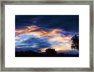 Evening Sky Framed Print by James BO  Insogna