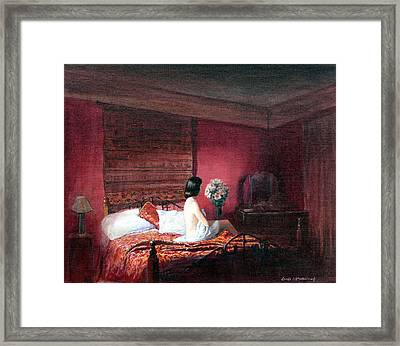 Evening Solitude Framed Print by Tomas OMaoldomhnaigh
