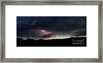 Evening Storm 2 Framed Print by Terril Heilman