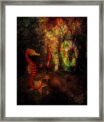 Evening Stroll Framed Print by Mimulux patricia no