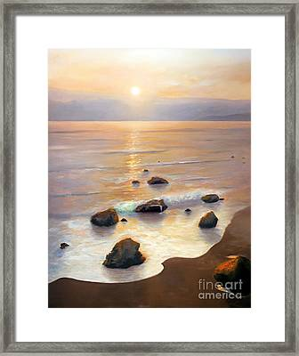 Eventide Framed Print by Michael Rock