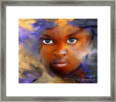 Every Child Framed Print by Bob Salo