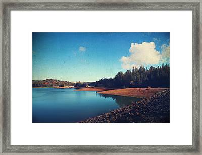 Every Time I Think Of You Framed Print by Laurie Search