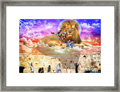 Every Tribe Every Nation Framed Print by Dolores Develde
