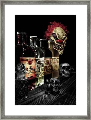 Evil Alchemy Framed Print by Tom Mc Nemar