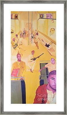 Evolution Framed Print by Lauren Livingston