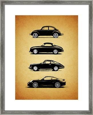 Evolution Framed Print by Mark Rogan