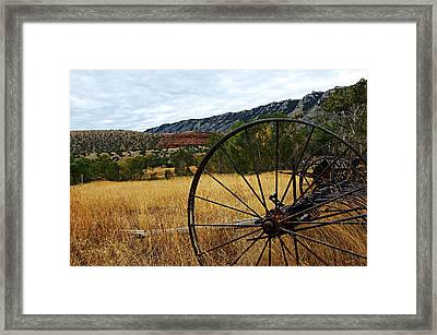 Ewing-snell Ranch 3 Framed Print by Larry Ricker