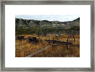 Ewing-snell Ranch 4 Framed Print by Larry Ricker